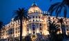 """Le Chantecler - Hôtel Negresco - Nice: Menu étoilé """"Prestige"""" ou """"Signature"""" pour 2convives dès 189 € au Chantecler, restaurant du palace Le Negresco"""