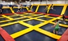 Sky High Sports - Niles: Two Hours of Trampoline Jump Time Monday–Thursday or Friday–Sunday at Sky High Sports (Up to48%Off)