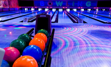 Two Hours of Bowling for Two, Four, or Six with Shoe Rentals at Oak Tree Lanes (Up to 64% Off)