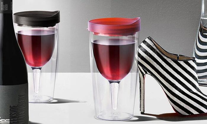 Vino 2 Go Wine Glasses Groupon Goods