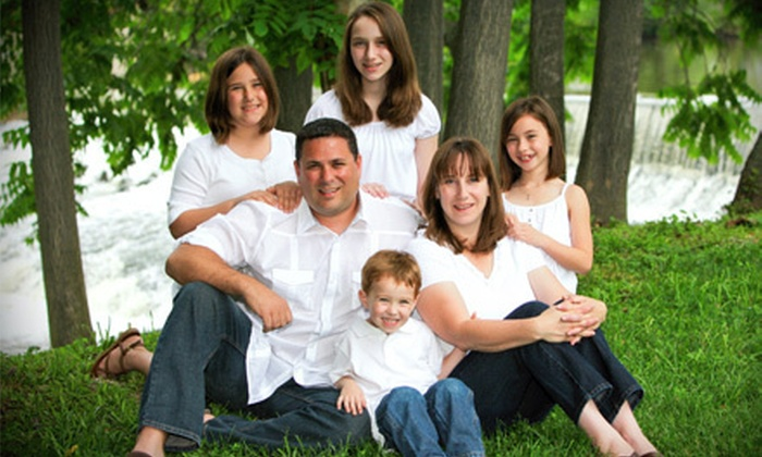 Smile America Portraits - Multiple Locations: $29 for a Family Outdoor Portrait Session with Prints from Portrait Scene ($149 Value)