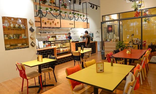 Image result for square q cafe