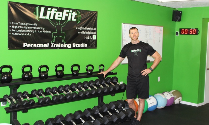 LifeFit Personal Training Studio - LifeFit Personal Training Studio: Two Personal Training Sessions with Diet and Weight-Loss Consultation from Lifefit Personal Training Studio (65% Off)