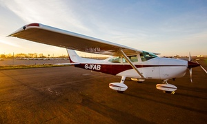 the bristol and wessex aeroplane club: Flying Experience For Two (£195) With Champagne and Meal (£249) at The Bristol and Wessex Aeroplane Club (22% Off)