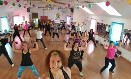 Five Dance-Fitness Classes at About Blazin Dance & Fitness Llc (70% Off)