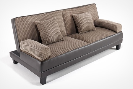 Lucia cord sofa bed groupon goods for Sofa bed groupon