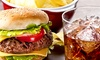 Burger and Soft Drink For Two £12