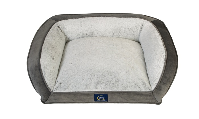 Serta Orthopedic Foam Couch Bed For Pets Up To 69 Off