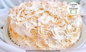 Meu Doce Favorito: Meu Doce Favorito – Europa: torta de 2 ou 4 kg (opção com 100 ou 200 docinhos)