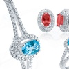 4-Piece Gemstone and Diamond Set