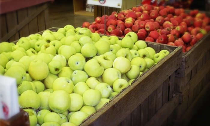 Ikenberry Orchards - Daleville: $7 for $14 Worth of Homegrown Peaches and Apples at Ikenberry Orchards in Daleville