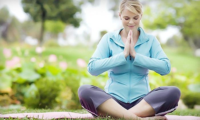 Center for Yoga Sanctuary - Okemos: Four or Eight Drop-In Classes at Center for Yoga Sanctuary (Up to 53% Off)