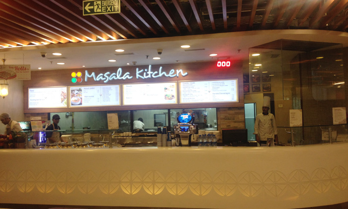 4 course veg non veg meal at masala kitchen quest mall syed amir ali avenue - Masala Kitchen