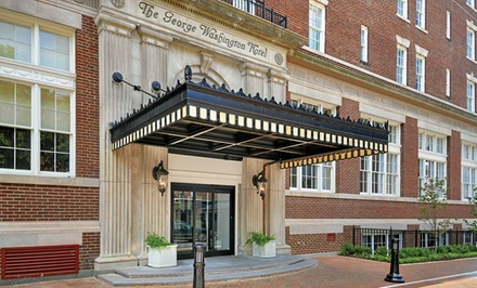 Stay with Valet Parking at The George Washington, A Wyndham Grand Hotel in Winchester, VA. Dates Available into April.