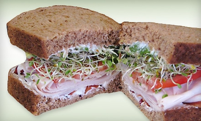High Nooner - Multiple Locations: Gourmet Sandwich Meal for Two or $5 for $10 Worth of Sandwiches and Salads at High Nooner