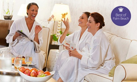 Spa Package with Lunch, or Haircut-and-Spa Package at The Spa at PGA National Resort (Up to 53% Off)