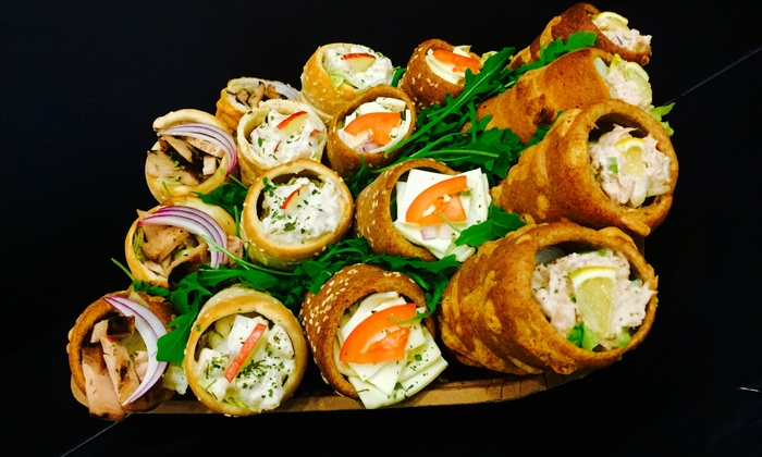 Secret Gourmet - Downtown Miami: Sandwiches, Cheese or Sandwich Catering for 10, or Wine Gift Basket at Secret Gourmet (Up to 47% Off)