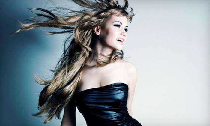 Salons of Dallas - Multiple Locations: Brazilian Blowout with Optional Haircut at Salons of Dallas (Up to 70% Off)