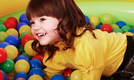 2 Visits to Kids' Indoor Inflatable Playground or Birthday Party for 16 at Monkey Joe's (Up to 50% Off)