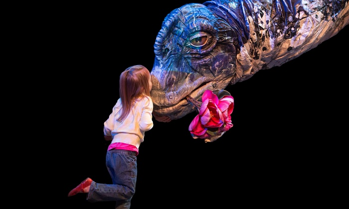 Dinosaur Zoo Live - State Theatre: Dinosaur Zoo Live at State Theatre on Friday, April 11, at 6 p.m. (Up to 50% Off)