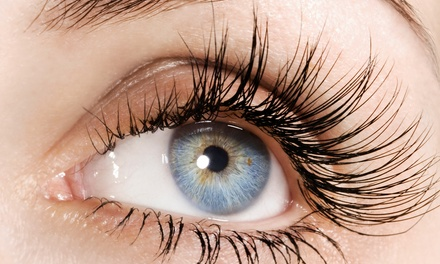 Full Set of Mink Eyelash Extensions, One Fill, or Both at Viva La Lash (Up to 59% Off)
