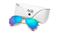 GROUPON: Aquaswiss Aviator Sunglasses for Men and Women Aquaswiss Aviator Sunglasses