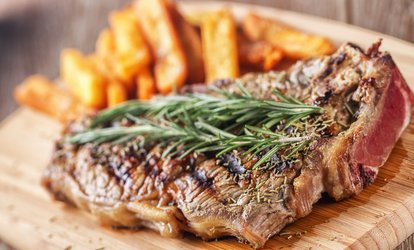 10oz Sirloin Steak Meal for Two or Four at Cracovia Restaurant (Up to 56% Off)