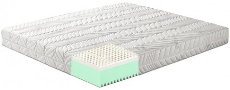 Memory Lattice Materassi.Materasso In Lattice O Memory Foam Groupon Goods
