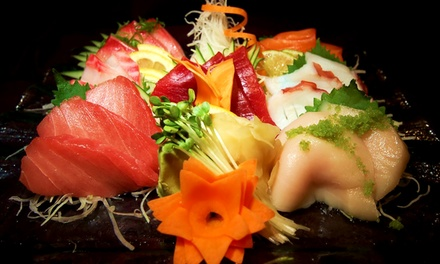 Sushi and pan asian food asian bistro groupon for Adaro sushi pan asian cuisine