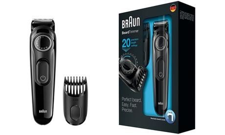 Recortadora de barba Braun BT3020