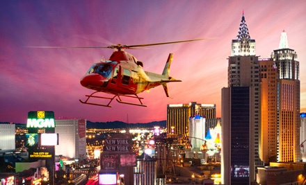 Las Vegas Helicopter Ride  Deals In Las Vegas  Groupon