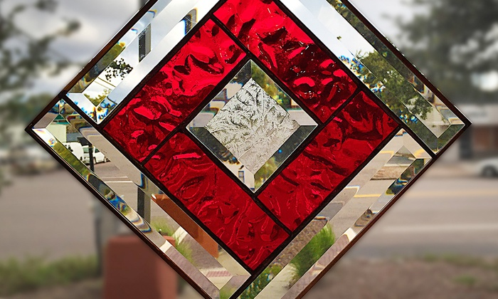 Grand Central Stained Glass & Graphics - St. Petersburg: $79 for a Stained-Glass Suncatcher Class for One at Grand Central Stained Glass & Graphics ($145 Value)