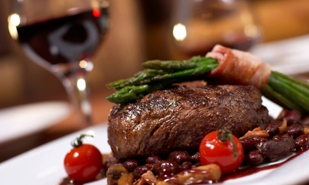 Dinner for Two Adults and Two Children, or $20 for $40 Worth of International Food at Brasserie Bistro