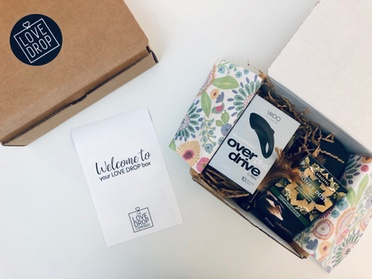Date Night Box or Sexual Self-Care Box from Love Drop Subscription Box (Up to 39% Off)