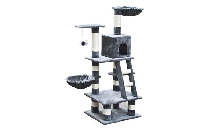kratzbaum f r katze groupon goods. Black Bedroom Furniture Sets. Home Design Ideas