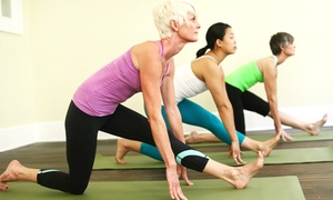 One Month Of Unlimited Yoga Classes Or 10 Classes At Bamboomoves Yoga (up To 75% Off)