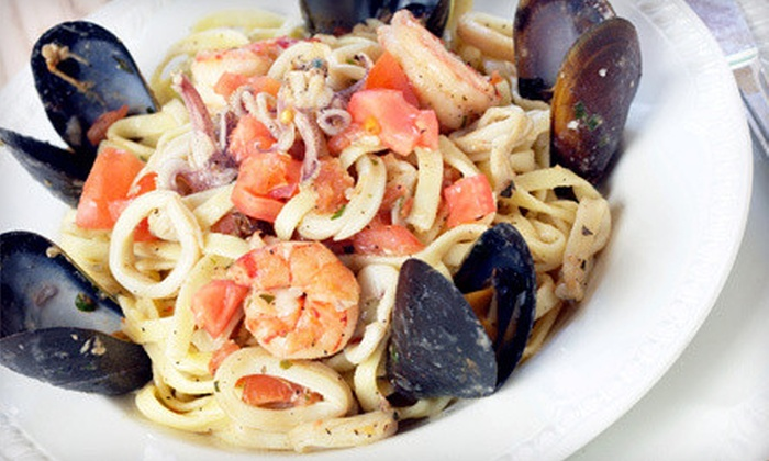 Little Napoli Italian Cuisine - Multiple Locations: Southern Italian Cuisine for Dinner, Lunch or Brunch, or Carryout at Little Napoli Italian Cuisine (Up to 53% Off)