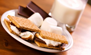 Snowopolis: $18 for Table Side S'mores and Hot Chocolate or Coffee for Four at Snowopolis ($29.99 Value)