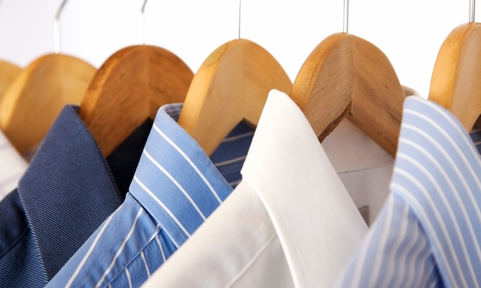 Dry Clean City Charlotte - Multiple Locations: Dry Cleaning of One Comforter or Laundering of Eight Men's Shirts at Dry Clean City (Up to 50% Off)
