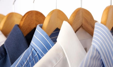 Dry Cleaning of One Comforter or Laundering of Eight Men's Shirts at Dry Clean City (Up to 50% Off)