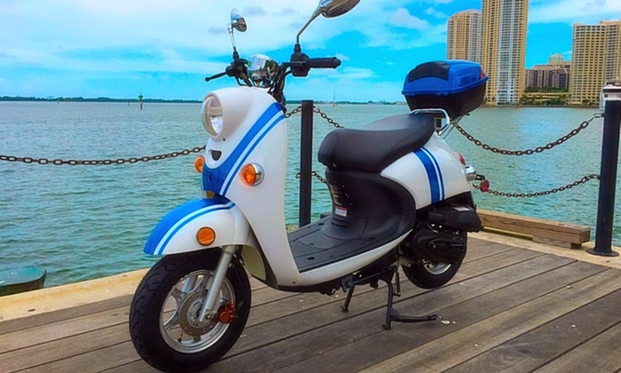 Scooteria - Downtown Miami: $5 for $10 Toward a One-Hour Scooter Rental — Scooteria
