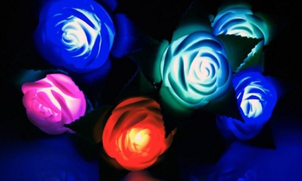 LED Light Up Roses - Multiple Colors Available
