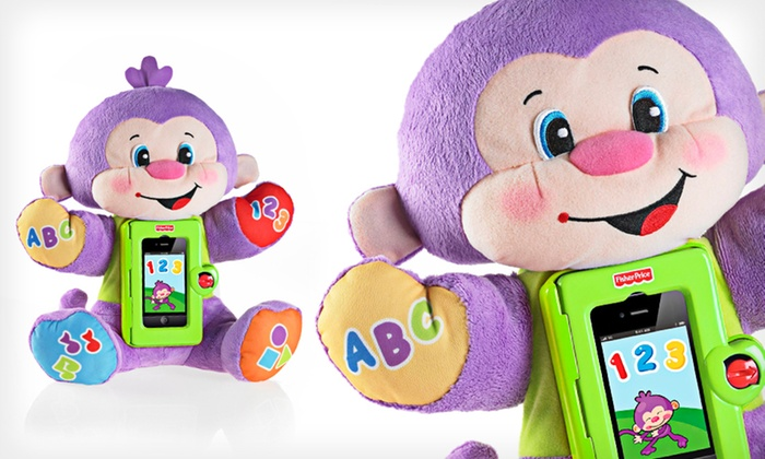 Laugh & Learn Apptivity Monkey: $25 for a Fisher-Price Laugh & Learn Apptivity Monkey ($37.99 Total Value). Free Shipping and Free Returns.
