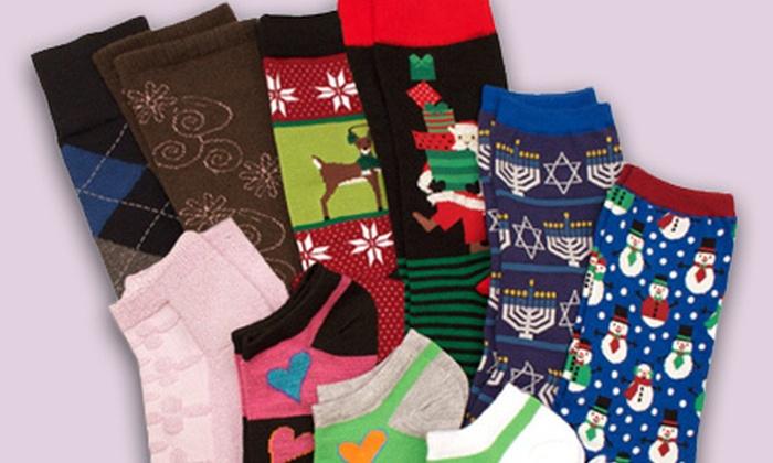 RenfroSocks.com: $15 for $30 Worth of Socks for Men, Women, and Children from RenfroSocks.com