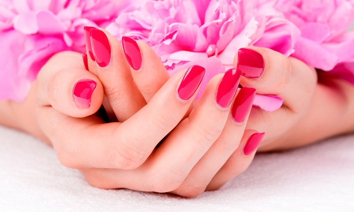 Mi Beauty Salon - Warm Springs: One or Three Shellac Manicures at Mi Beauty Salon (Up to 51% Off)