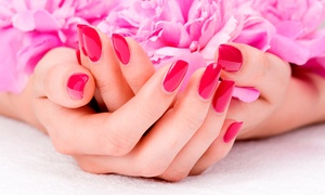 Mi Beauty Salon: One or Three Shellac Manicures at Mi Beauty Salon (Up to 51% Off)
