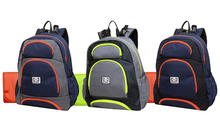 diaper dude sport backpack diaper bag groupon. Black Bedroom Furniture Sets. Home Design Ideas