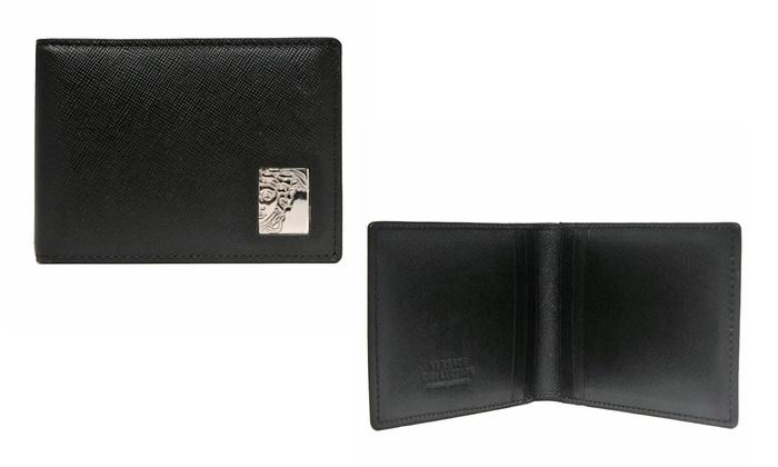 ... Versace Men's Leather Wallets: Versace Collection Men's Leather Wallets