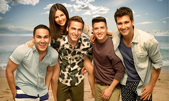 Summer Break Tour: Big Time Rush & Victoria Justice - Darling's Waterfront Pavilion: Summer Break Tour: Big Time Rush & Victoria Justice at Darling's Waterfront Pavilion on July 24 (Up to $42.25 Value)