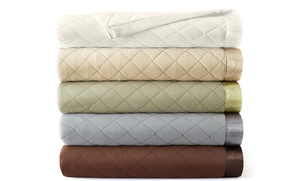 Shavel All Seasons Quilted Microflannel Blanket